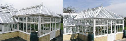 Greenhouse restoration - greenhouse repair - image 12