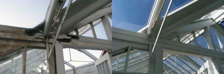 Greenhouse restoration - greenhouse repair - image 17