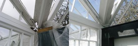 Greenhouse restoration - greenhouse repair - image 19