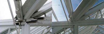 Greenhouse restoration - greenhouse repair - image 20