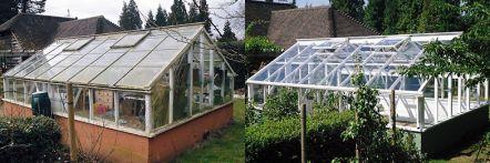Greenhouse restoration - greenhouse repair - image 24