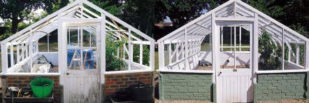 Greenhouse restoration - greenhouse repair - image 25