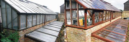 Greenhouse restoration - greenhouse repair - image 28