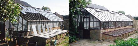 Greenhouse restoration - greenhouse repair - image 29