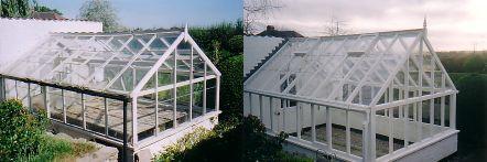 Greenhouse restoration - greenhouse repair - image 33