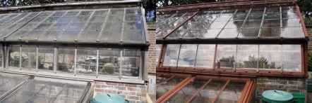 Greenhouse restoration - greenhouse repair - image 39