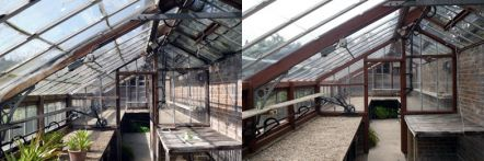 Greenhouse restoration - greenhouse repair - image 40