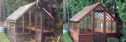 Greenhouse restoration - greenhouse repair - image 9