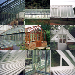 Greenhouse restoration & repair gallery - click to view
